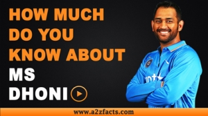 Mahendra Singh Dhoni - Everything You Need To Know About!