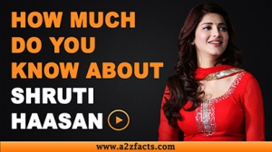 Shruti Haasan - Everything You Need To Know About...!