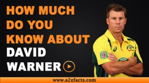 David Warner - Everything You Need To Know About...!