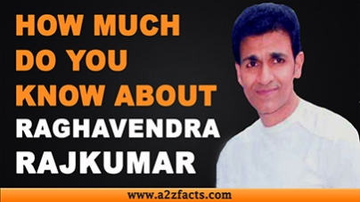 Raghavendra Rajkumar - Everything You Need To Know About...!