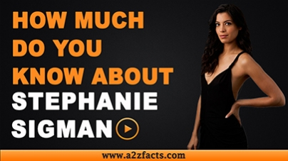 Stephanie Sigman-Everything You Need To Know About..!