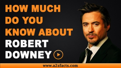 Robert Downey Jr.-Everything You Need To Know About..!