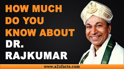 Dr.Rajkumar - Everything You Need Know About...!