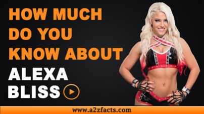 Alexa Bliss-Everything You Need To Know About!