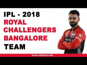 Royal Challengers Bangalore IPL 2018 Team and Matches Details