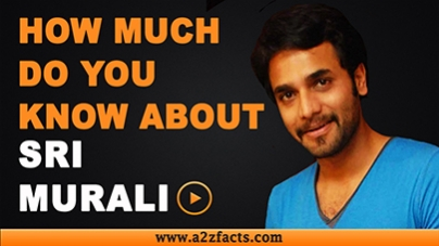Srimurali - Everything You Need To Know About...!