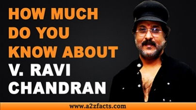 Veeraswamy Ravichandran - Everything You Need To Know About...!