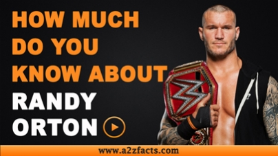 Randy Orton-Everything You Need To Know About!