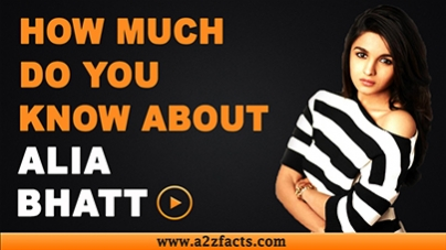 Alia Bhatt - Everything You Need To Know About...!